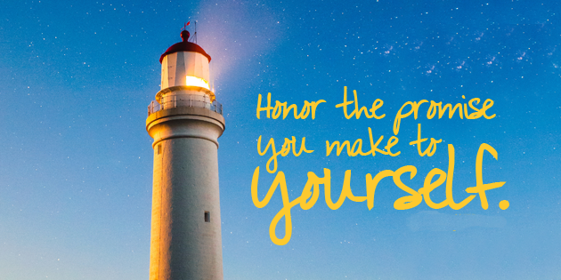 A Promise to Yourself