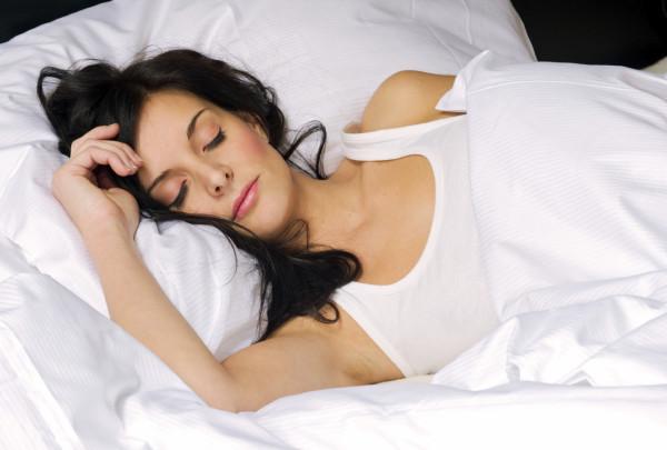 Young woman sleeping